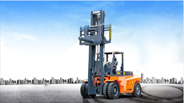 Counter balance heavy duty diesel forklift